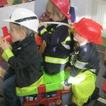 Children learning at St. Werburgh's Park Nursery.