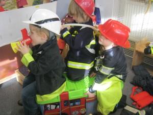 Children learning at St. Werburgh's Park Nursery.