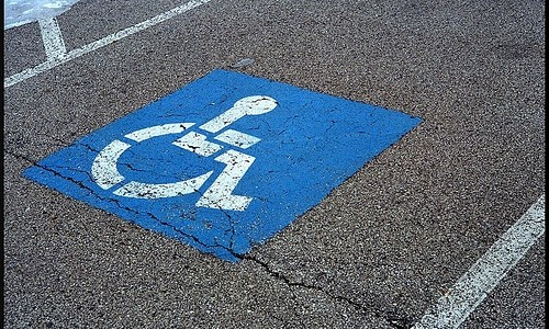 Disabled Parking Notice