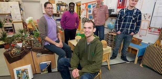 Meet the male teachers changing the perception of nursery school education