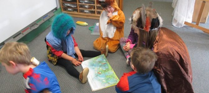 Green Room and World Book Day
