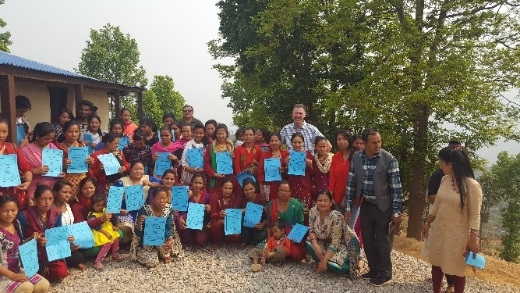 Pete's volunteer work with teachers in Nepal and Bhutan
