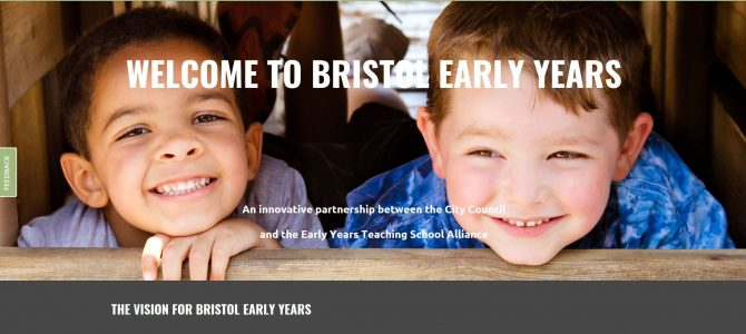 Bristol Early Years website goes live!