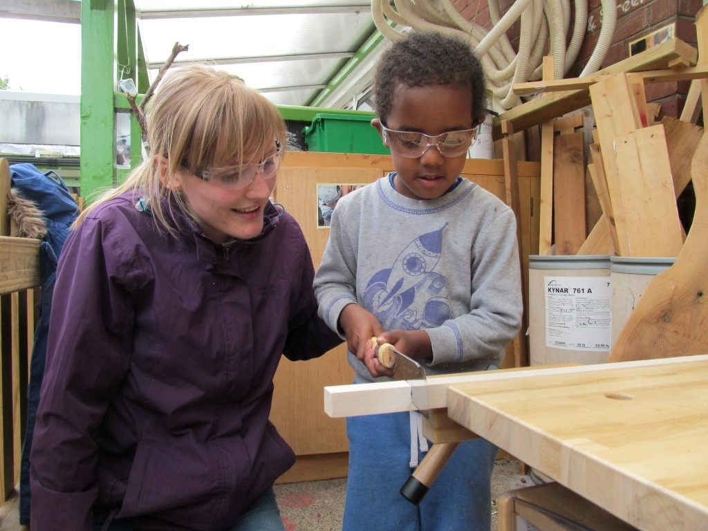 Early Years Woodwork Association St Werburgh S Park