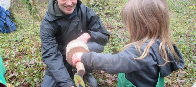 Blue Room's Forest School Visit