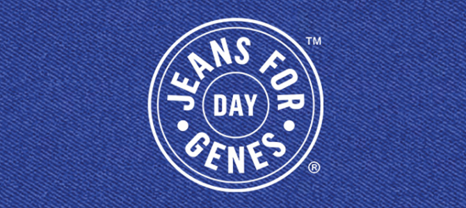 Jeans for Genes Day – Thank you!