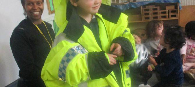 Police Officer Maz' Visit